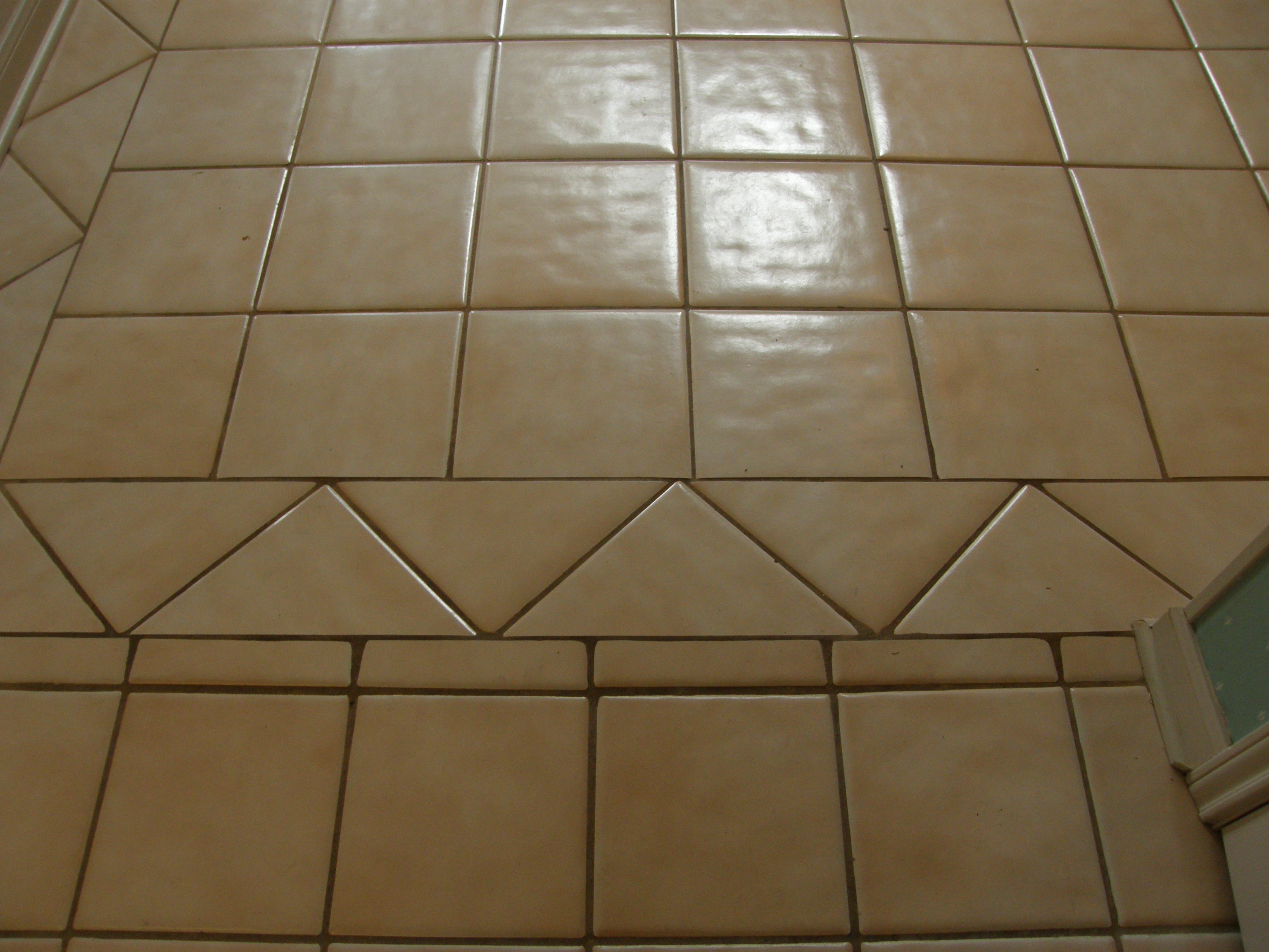 Color Sealed Grout Lines