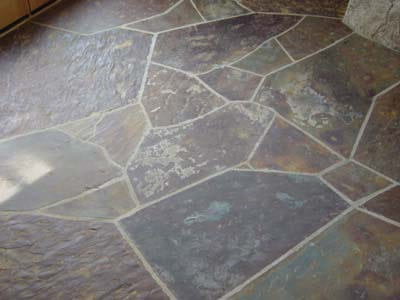 natural stone kitchen floor tiles care grout logic 7073